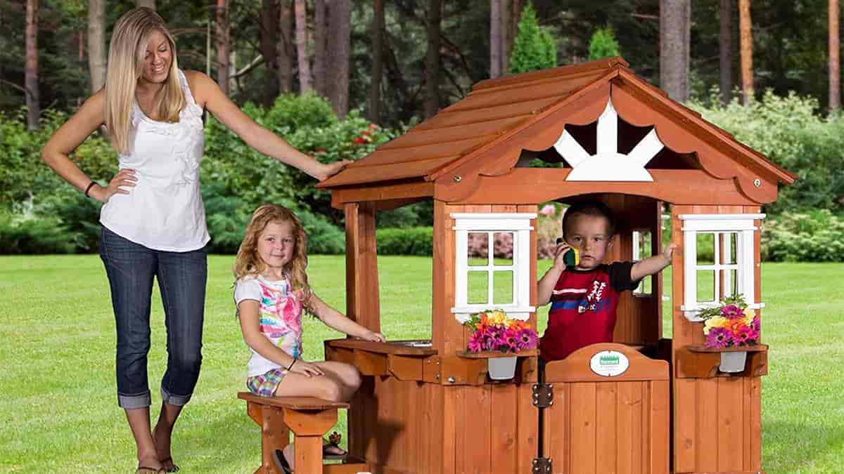 Exterior Play House For 5 Years Of Age